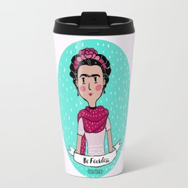 Frida Khalo Travel Mug