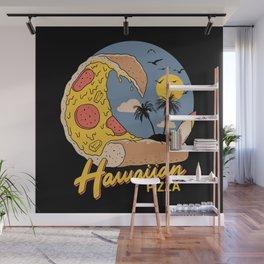 Hawaiian Pizza Wall Mural
