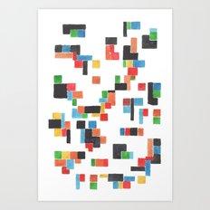 Pattern #11 Art Print