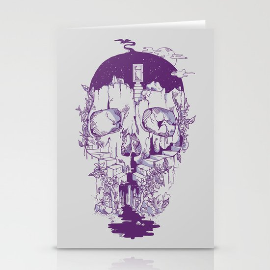 Inside My Head 2.0 Stationery Cards