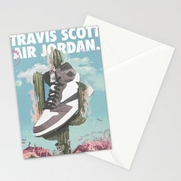 Travis x Air Jordan 1 Poster Stationery Cards