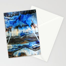 Blue Note Fire Stationery Cards