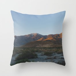 Mt San Jacinto - Pacific Crest Trail, California Throw Pillow