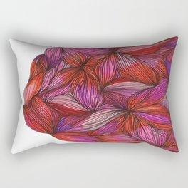 brightly blooming full Rectangular Pillow