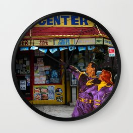 They Came From the Future to Win Every Lottery Wall Clock