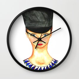 Soldier Girl Wall Clock