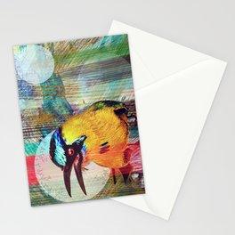 Motmot Rhythm Stationery Cards
