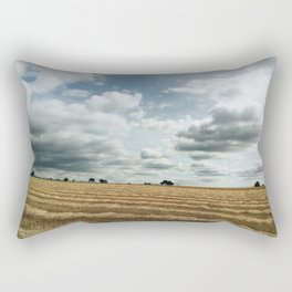 British wheat fields Rectangular Pillow