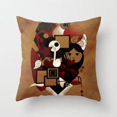 Goloseando Throw Pillow