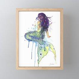 Mermaid Framed Mini Art Print