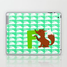 f for fox Laptop & iPad Skin