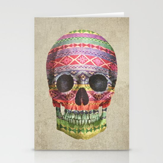 Navajo Skull  Stationery Cards