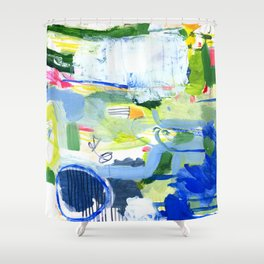 MUSICAL CONFUSION #2 Shower Curtain