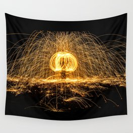 Rain of Fire Wall Tapestry
