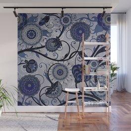 Denim Blues Wall Mural
