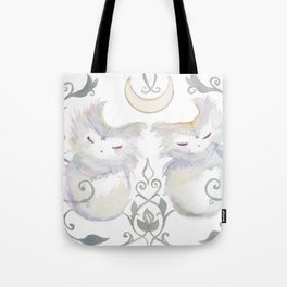 Moon & Mirror Twins Tote Bag