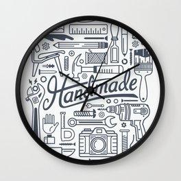 Make Handmade - White Wall Clock