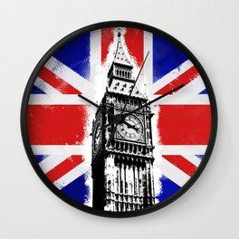 Union Jack Big Ben Wall Clock