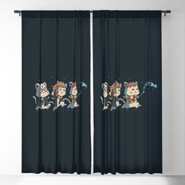 Potter Cats Blackout Curtain