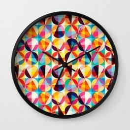 POP Circles Wall Clock