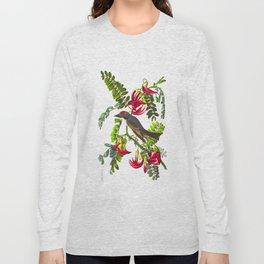 Piping Flycatcher Bird Long Sleeve T-shirt