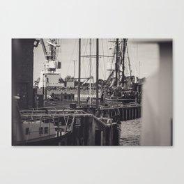 Hafen Wismar Canvas Print
