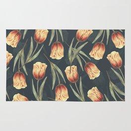 Tulipa pattern 1 Rug