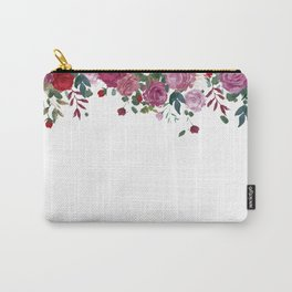 Floral Waterfall Carry-All Pouch