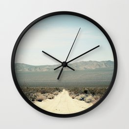 Mohave Roads Wall Clock