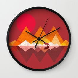 Roaming Lands Wall Clock
