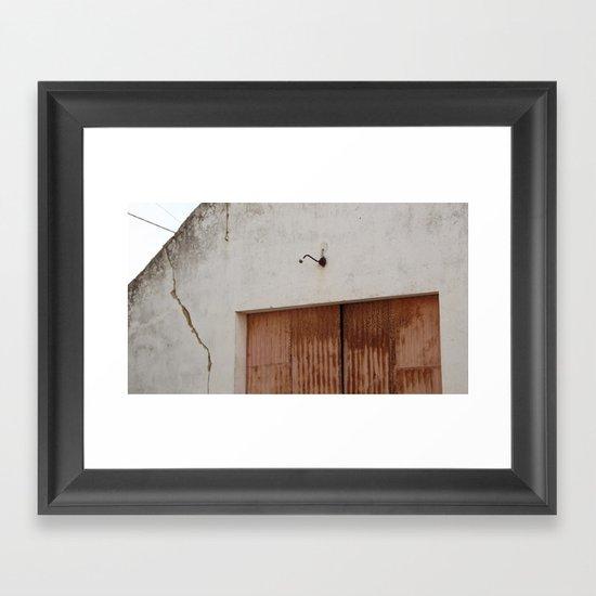Shed Framed Art Print