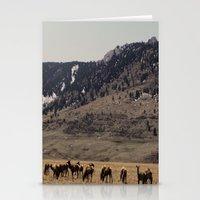 elk Stationery Cards featuring Elk by Al Robinson