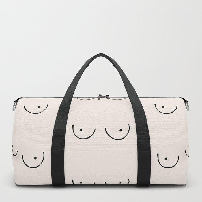 Boobs Duffle Bag