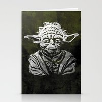 yoda Stationery Cards featuring Yoda by Some_Designs