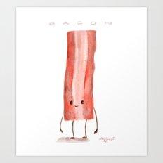 Bacon Art Print