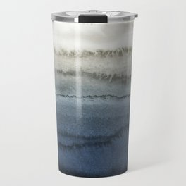 WITHIN THE TIDES - CRUSHING WAVES BLUE Travel Mug