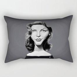 Lauren Bacall Rectangular Pillow