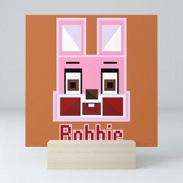 Block Robbie Mini Art Print