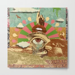 AFTERNOON PSYCHEDELIA Metal Print