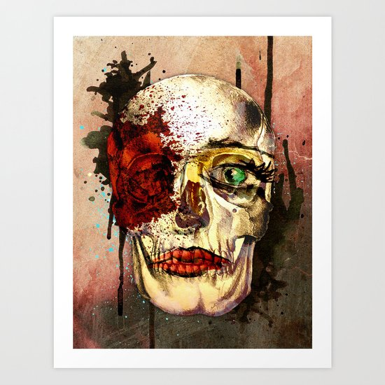 skull3 Art Print