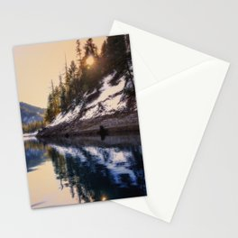 Reflections of a Dream Lake McCloud California Stationery Cards