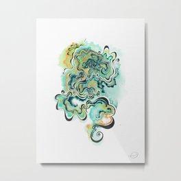 Displacement Metal Print