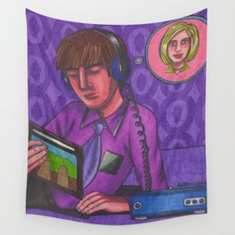 Disco 2000 Wall Tapestry