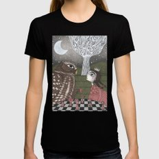 Once Upon a Time X-LARGE Black Womens Fitted Tee