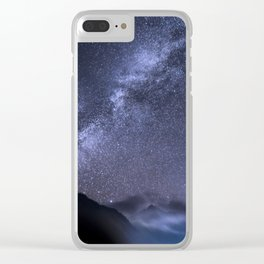 Night Therapy Clear iPhone Case