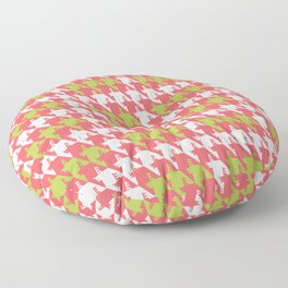 Where is the reindeer of Santa?_M White&Coral Floor Pillow