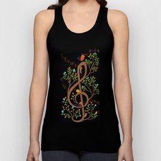 Song birds Unisex Tank Top
