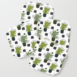 Potted House plant Coaster