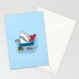 Great White North Shark Stationery Cards