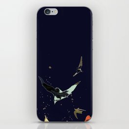 vol de nuit iPhone Skin